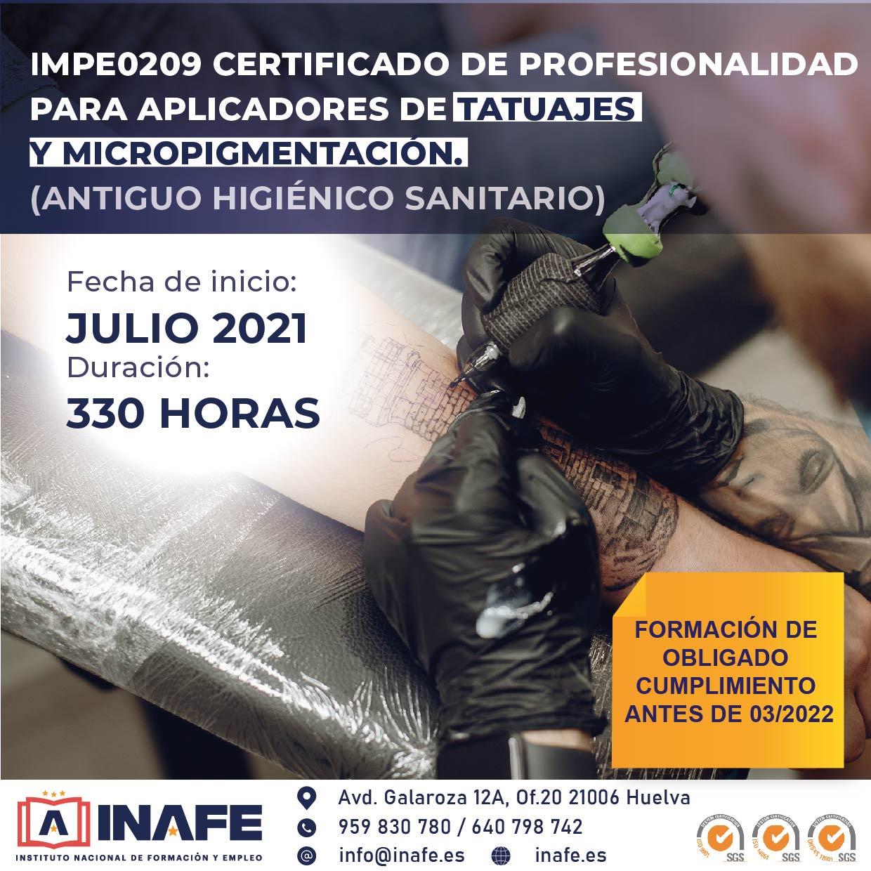 Curso Higienico Sanitario Homologado Junta De Andalucia Inafe Formacion Y Empleo