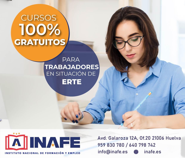 Curso gratis para trabajadores en ERTE